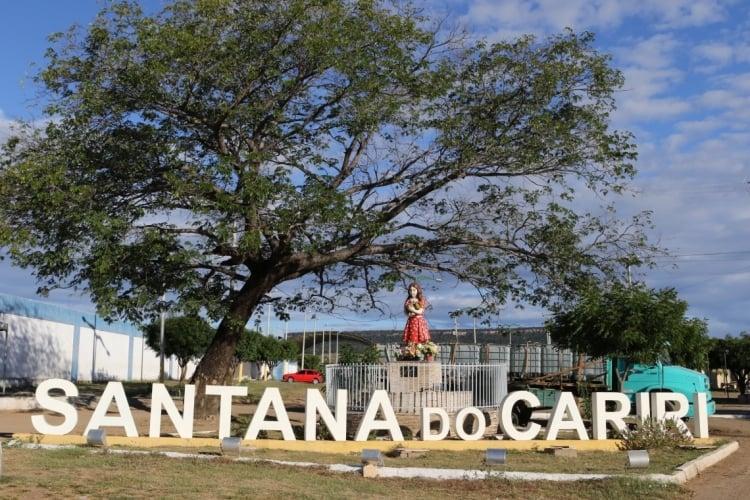 Santana do Cariri confirmou 6 casos de reinfecção pela Covid-19 (Foto: Fabio Lima)