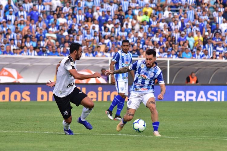 Ceará e CSA se reencontram na Copa do Nordeste após três anos (Foto: FRANCISCO CEDRIM/CSA)