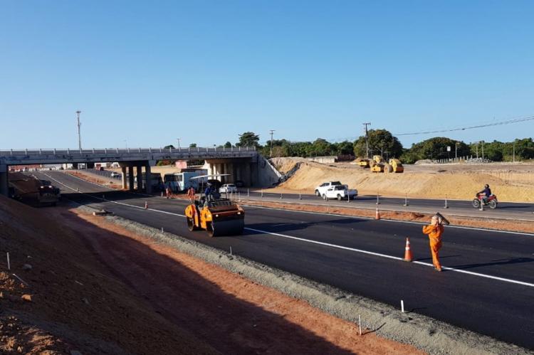 Conexão entre Anel Viário e CE-040 terá novas pistas liberadas a partir da noite desta segunda-feira, 23.