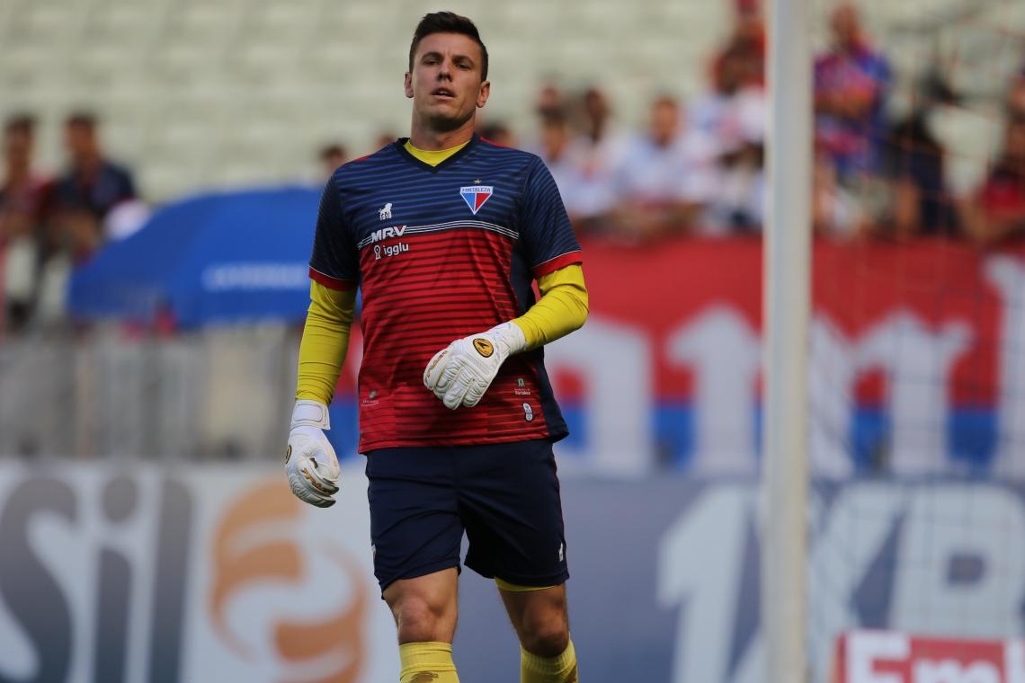Marcelo Boeck, goleiro do Fortaleza, ex-Chapecoense