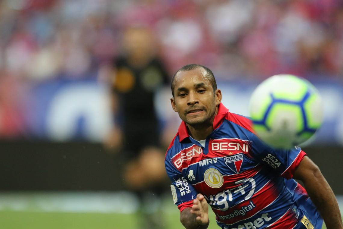 Edinho foi um dos destaques do Fortaleza em 2019, mas voltou para o Atlético-MG porque estava emprestado