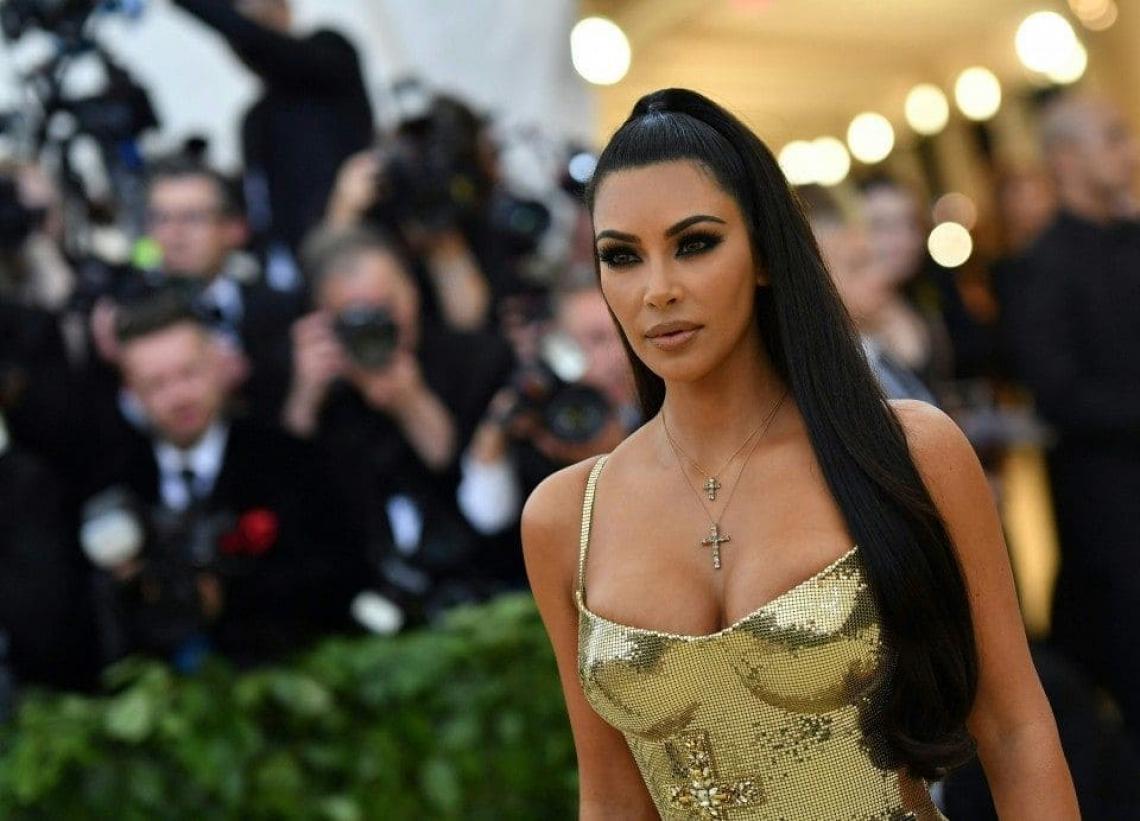 North West é a primeira filha de Kim Kardashian