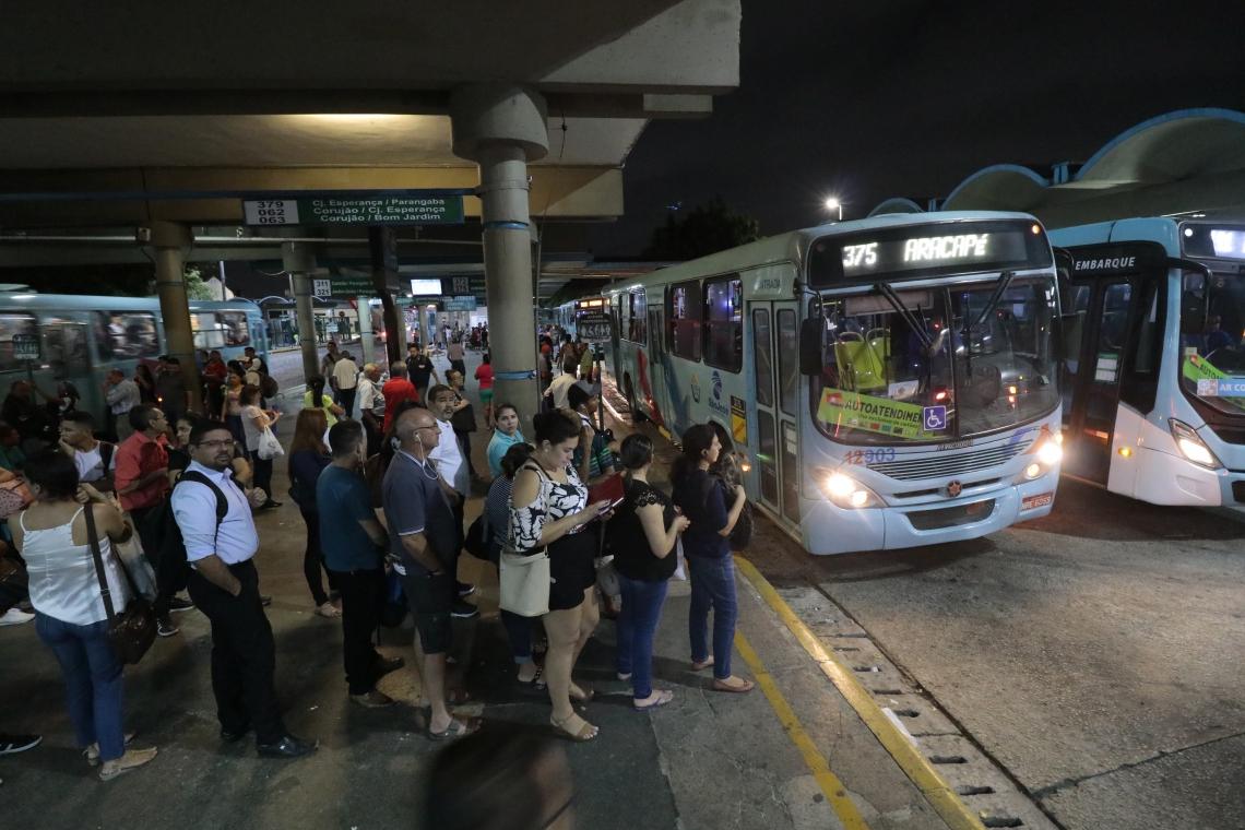 Terminal de ônibus da Parangaba entra no roteiro