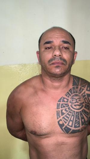 Ednal Braz da Silva, o Siciliano, preso acusado de ordenar ataques em torres de telefonia em abril de 2019 em Maracanaú