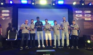 Zagueiro Luiz Otávio esteve presente no lançamento oficial do Ceará e-Sports Club