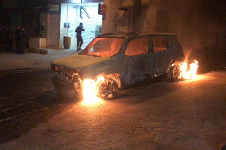 Viatura da PM teve perda total no município de Aratuba