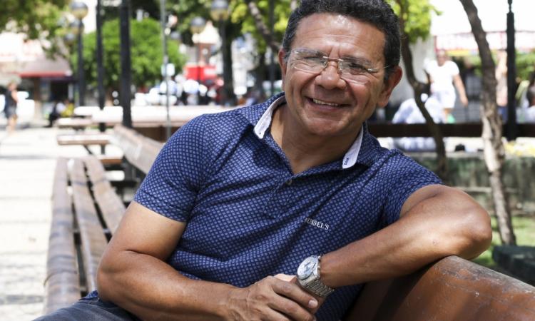 FORTALEZA, CE, BRASIL. 17-07-2019: Bené Barbosa, humorista. (Fotos: Deísa Garcêz/Especial para O Povo)