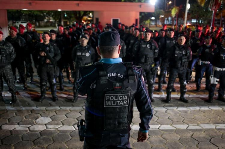 As Polícias Civil e Militar continuam os trabalhos para identificar e capturar todos os envolvidos nas ações criminosas. Na última sexta-feira, 27, foi realizada operação de combate aos crimes