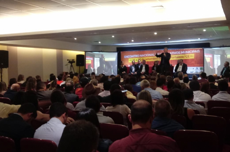Encontro reuniu mais de 500 vereadores do todo o País em Fortaleza