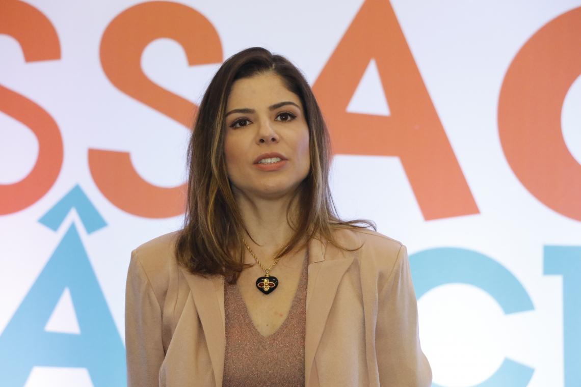 A primeira-dama de Fortaleza, Carol Bezerra
