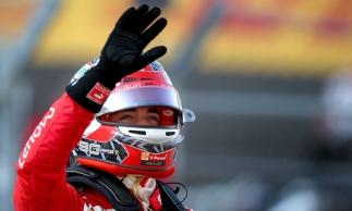 LeClerc é o segundo piloto da Ferrari