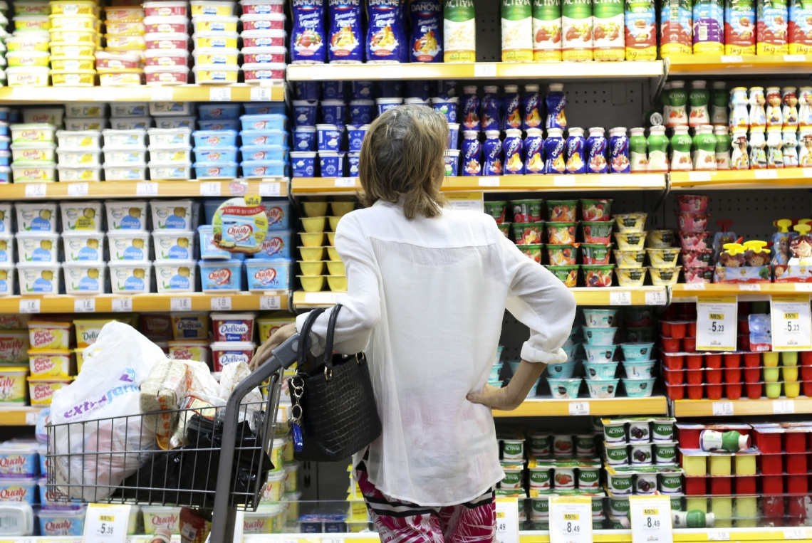 Alta da inflação fez com que aumento nos preços de itens da alimentação sejam mais sentidos pelos consumidores. (Foto: Deísa Garcêz/Especial para O Povo)