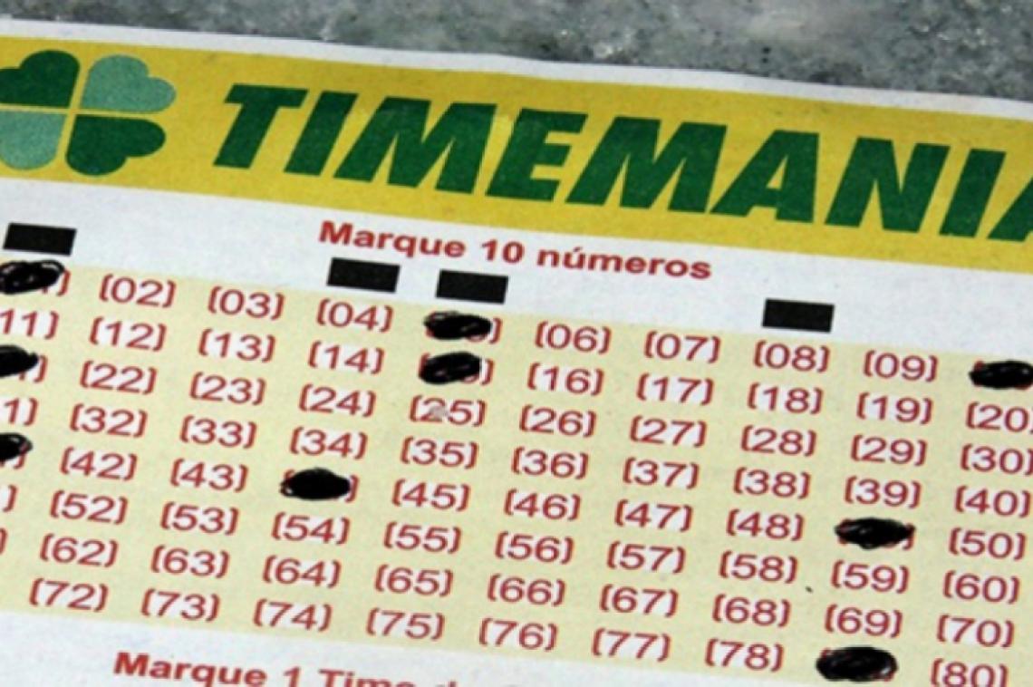 O sorteio da Timemania Concurso 1389 ocorre na noite de hoje, terça, 01 de outubro (01/10)