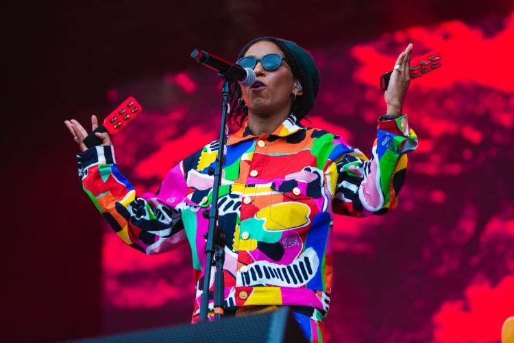 A cantora fluminense Mahmundi se apresentou no Rock in Rio 2019 no Palco Mundo no 29 de setembro  (Foto: Marcelo Paixão/Divulgação)