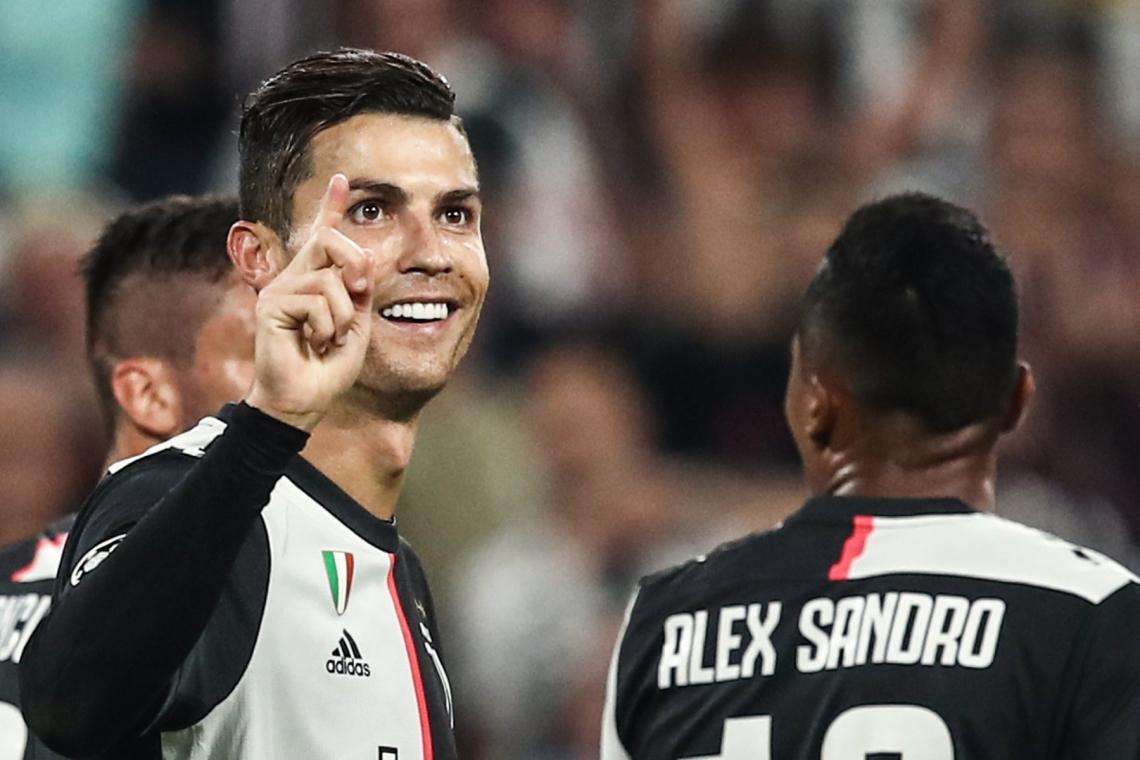 CR7 fechou a vitória da Juventus por 3 a 0 diante de Bayer Leverkusen