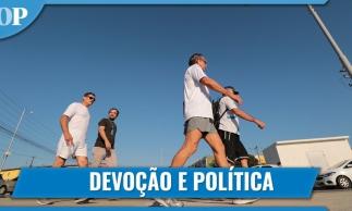 Ex-ministro de Bolsonaro, Santos Cruz participa de romaria no Ceará