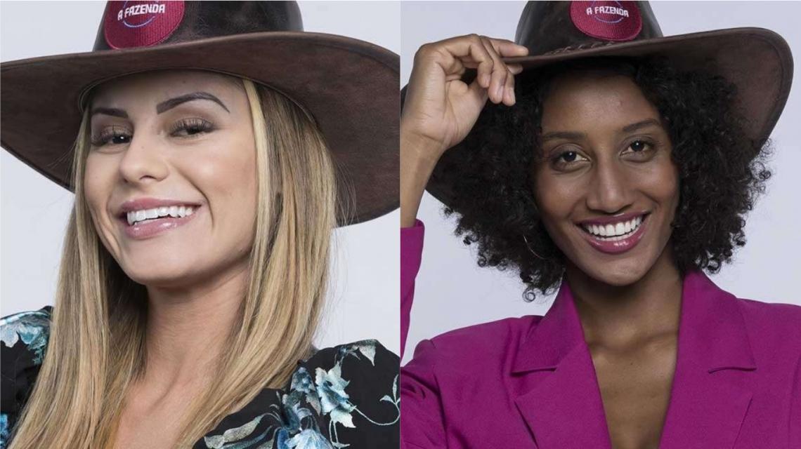 Aricia Silva ou Sabrina Paiva formam a segunda roça de A Fazenda 11. Quem você quer que seja eliminada?