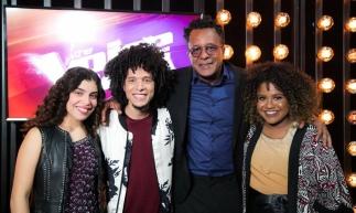 Ana Ruth, Lúcia Muniz, Tony Gordon e William Kessley estão na final do The Voice. Quem você quer que vença?