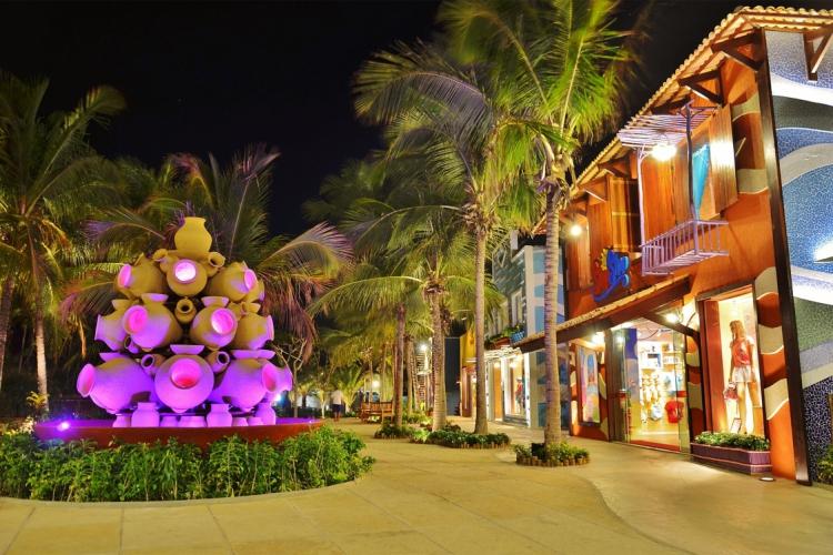Durante o Mês das Crianças haverá programação especial, com shows infantis e a Halloween Party do Beach Park. (Foto: Divulgação/Beach Park)