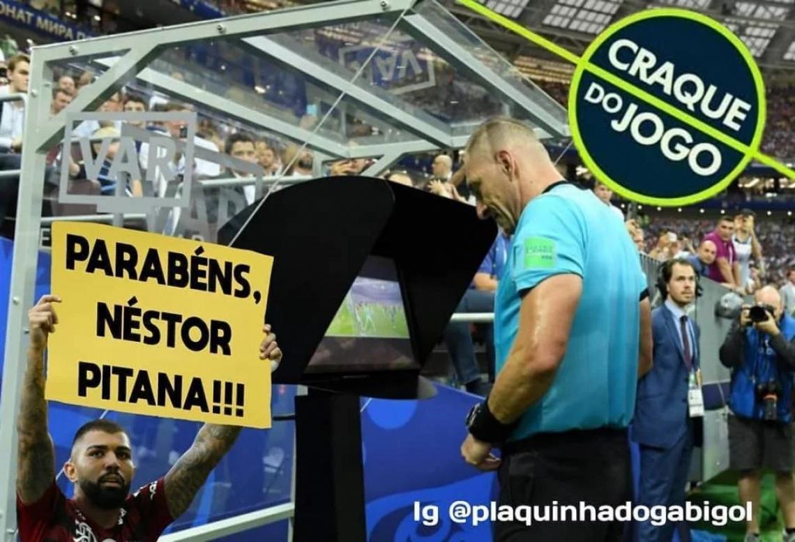 O árbitro argentino Néstor Pistana foi responsável pelas anulações.