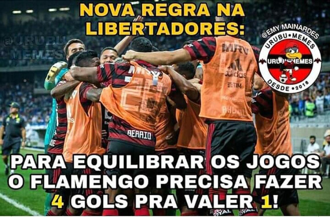 Para a torcida do Flamengo, uma nova regra entrou em vigor na Libertadores.