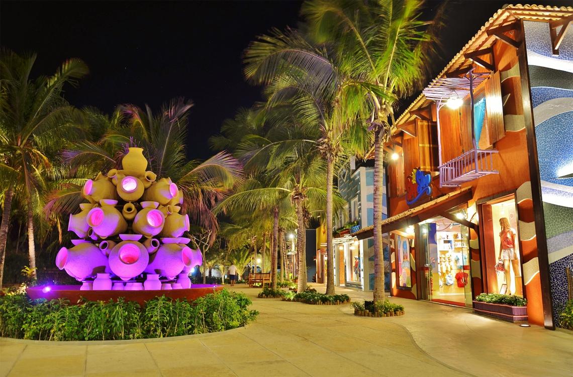 Durante o Mês das Crianças haverá programação especial, com shows infantis e a Halloween Party do Beach Park.