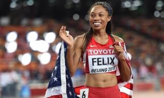 Ela conquistou sua 12ª medalha de ouro em campeonatos mundiais de atletismo