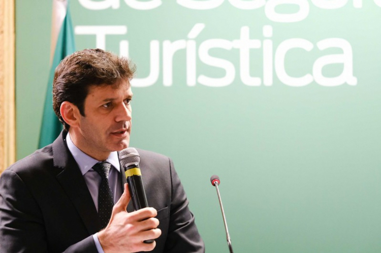 O ministro Marcelo Álvaro Antônio