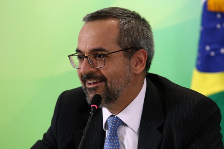 O ministro da Educação, Abraham Weintraub (Foto: Gabriel Jabur/MEC)