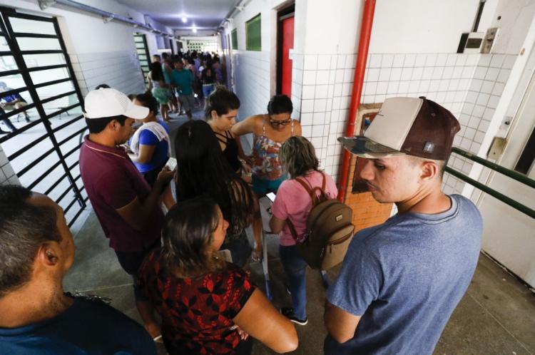Eleições para Conselho Tutelar em Fortaleza. Escola Odilon Gonzaga Braveza.
