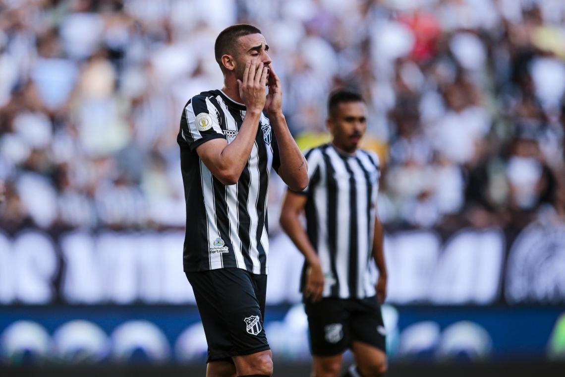 Galhardo já marcou nove gols com a camisa do Ceará