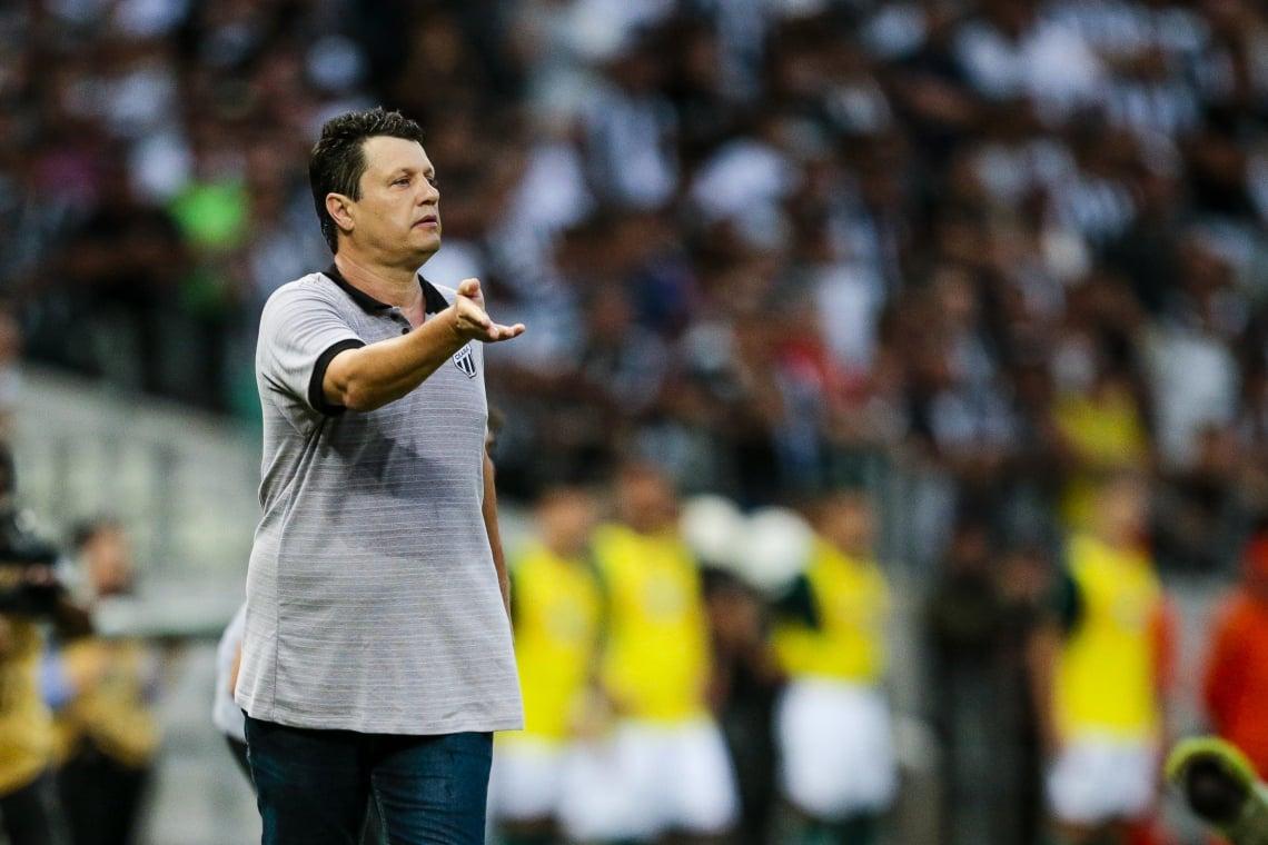 SERÁ o segundo jogo de Adílson como técnico do Ceará