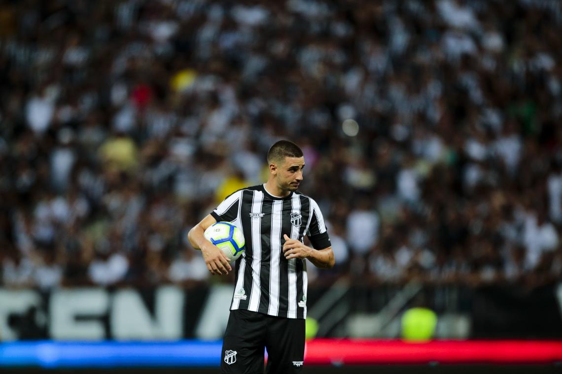 Na derrota para o Goiás, Ceará finalizou mais do que em qualquer outro jogo seu no Brasileirão