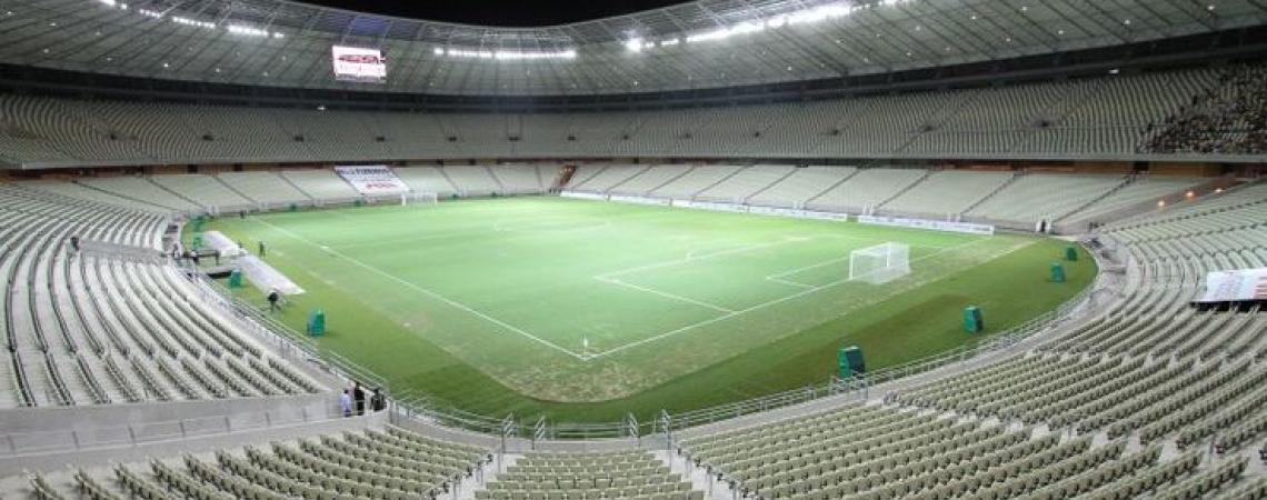 Visão panorâmica da Arena Castelão.   (Foto: Divulgação)