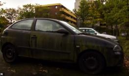 O carro de Heinz H. estava parado no mesmo local desde 2011.