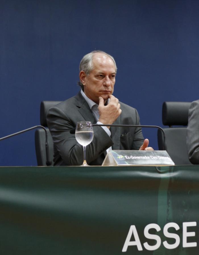 Ciro Gomes, pré-candidato em 2022. (Foto: Alex Gomes/ Especial para O POVO)