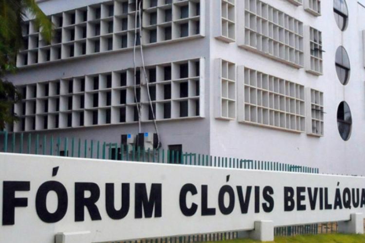 Fórum Clóvis Beviláqua (Foto: DIVULGAÇÃO/TJCE)