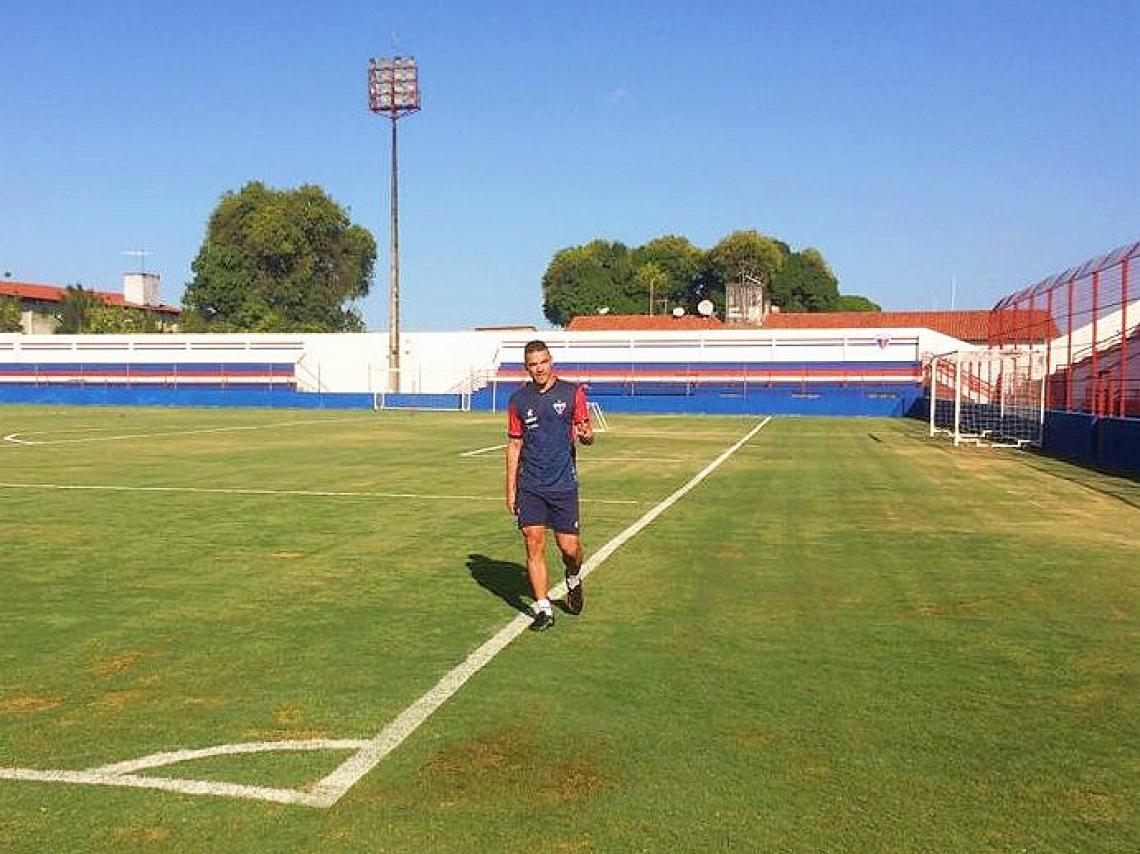 Felipe Alves está há duas semanas no DM.