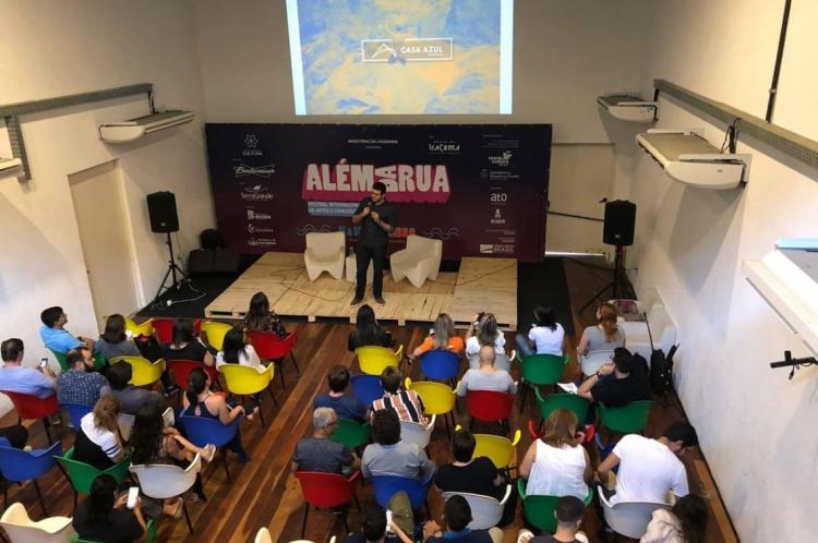 Na foto, a primeira edição do evento, no Centro Cultural Belchior