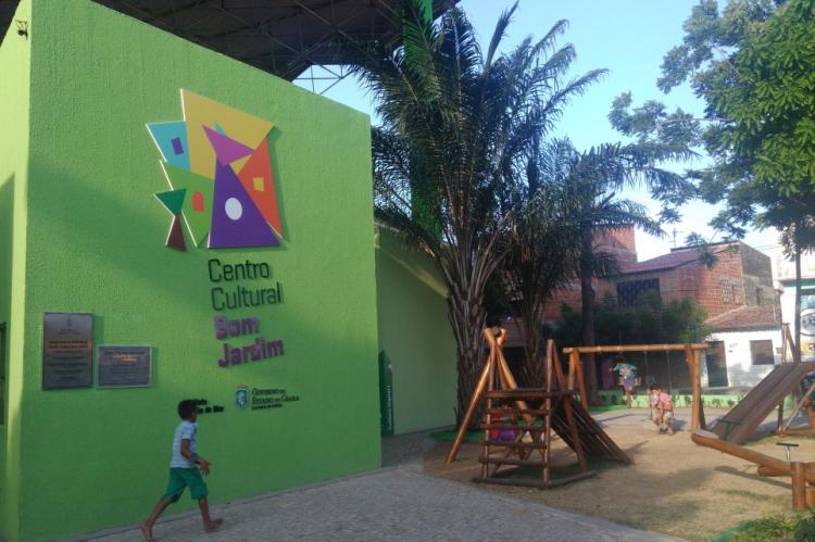 As atividades para crianças e jovens ocorrerão até domingo, no Centro Cultural do Bom Jardim