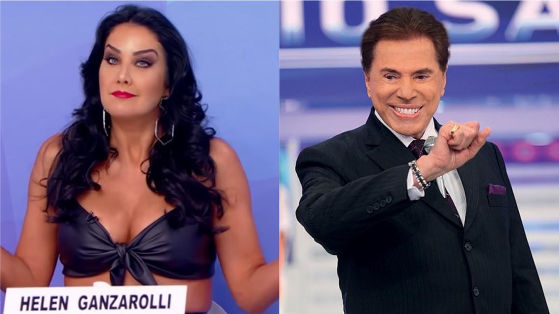 Helen Ganzarolli defende Silvio Santos de críticas.