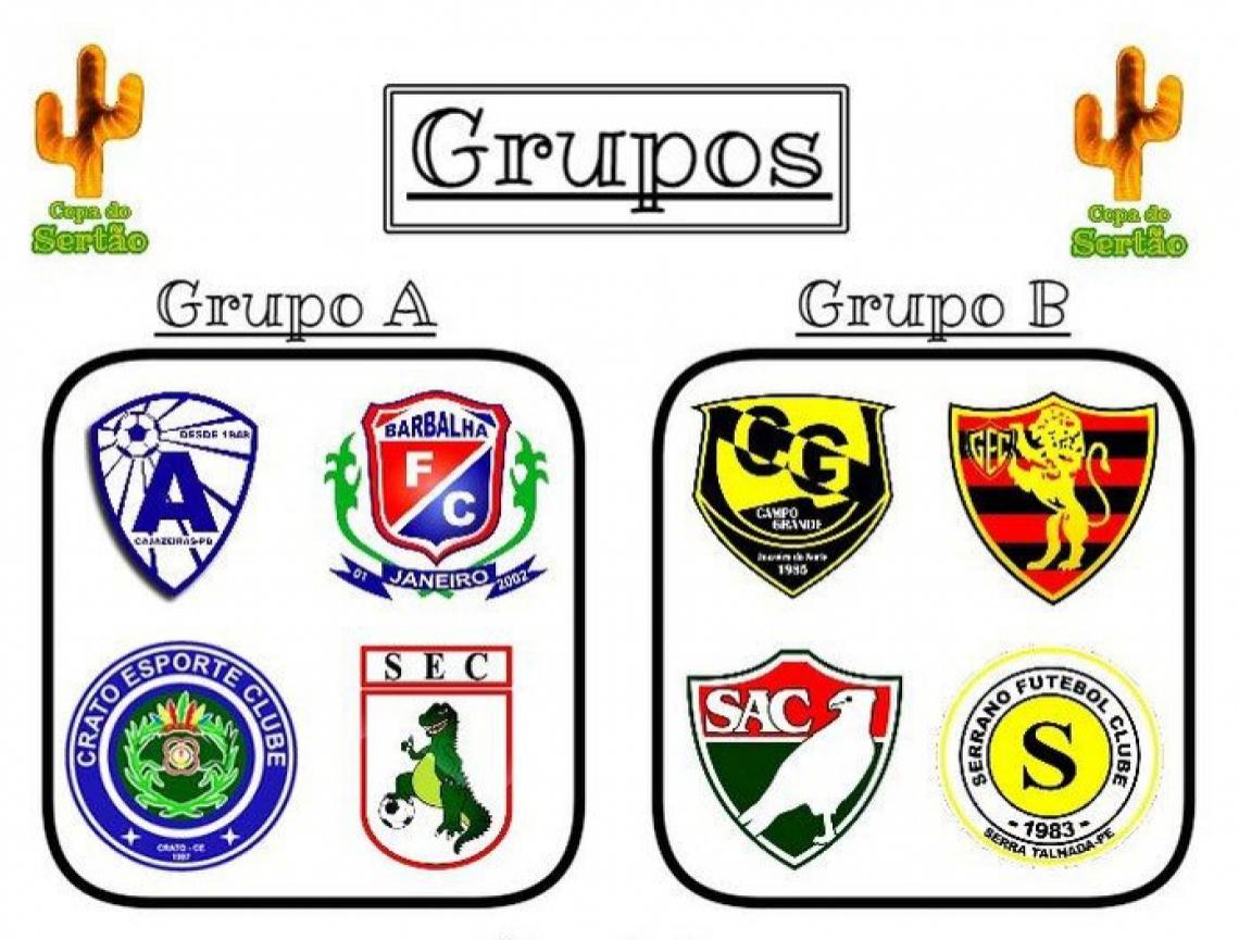 Barbalha, Campo Grande-CE, Crato e Guarani de Juazeiro são os representantes cearenses do certame