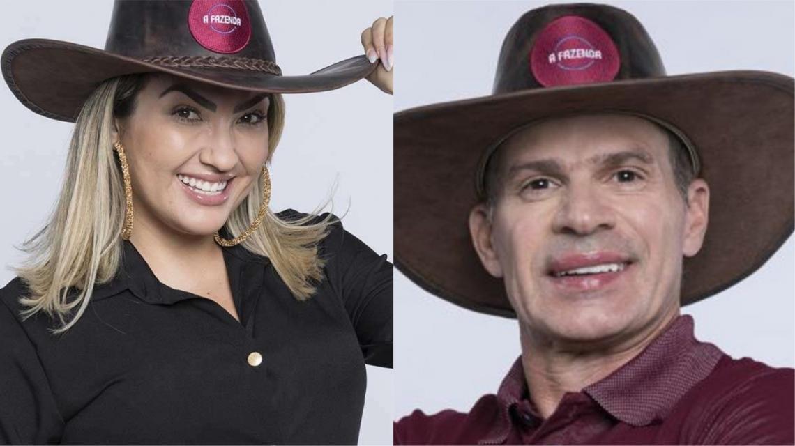 Thayse Teixeira e Túlio Maravilha estão na roça. Vote na enquete do O POVO Online e escolha quem você quer que seja eliminado de A Fazenda 11.
