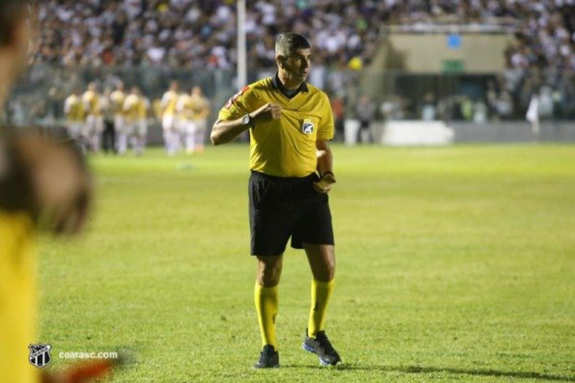 Marcelo de Lima Henrique apitará Ceará x Avaí