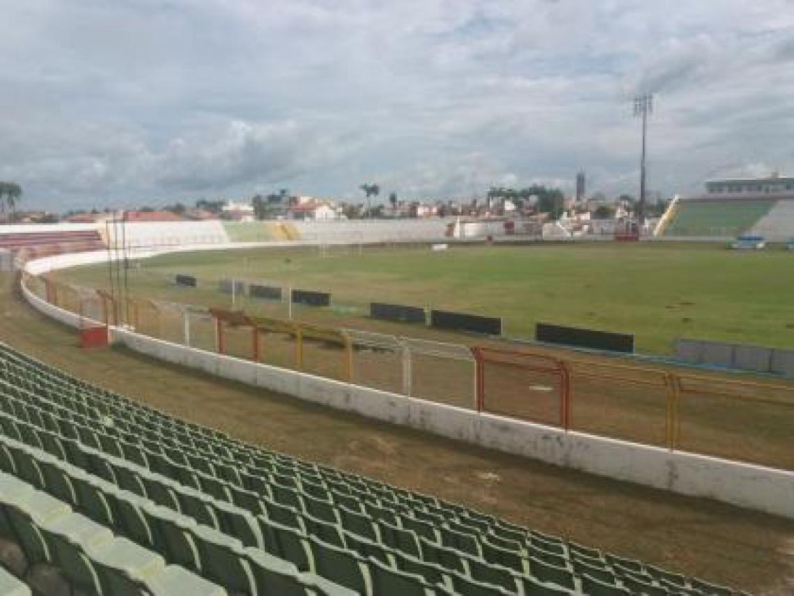 Estádio do Junco, em Sobral.