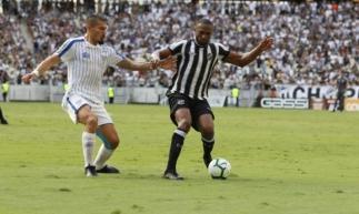 Partida marcou o retorno de Luiz Otávio