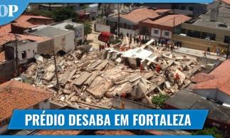 Prédio residencial desaba em Fortaleza