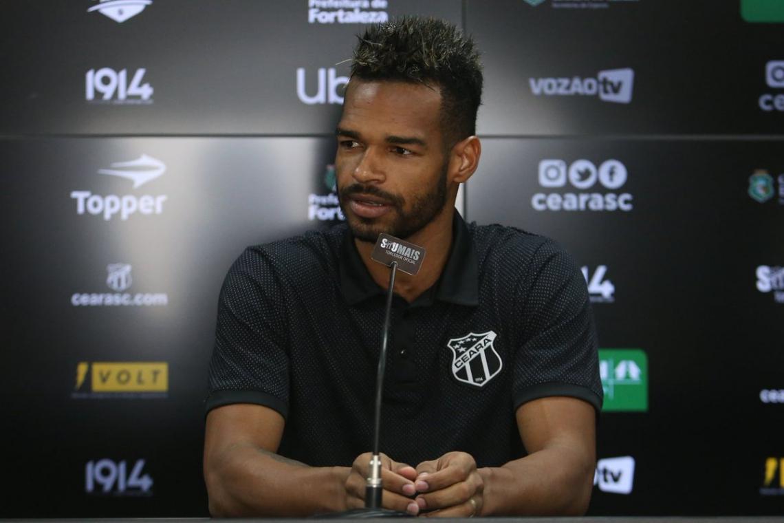 Valdo fez 47 partidas pelo Ceará em 2019
