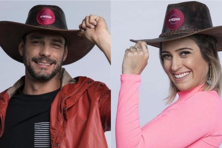 Diego Grossi e Tati Dias estão na quarta roça de A Fazenda 11. (Foto: Divulgação/RecordTV)