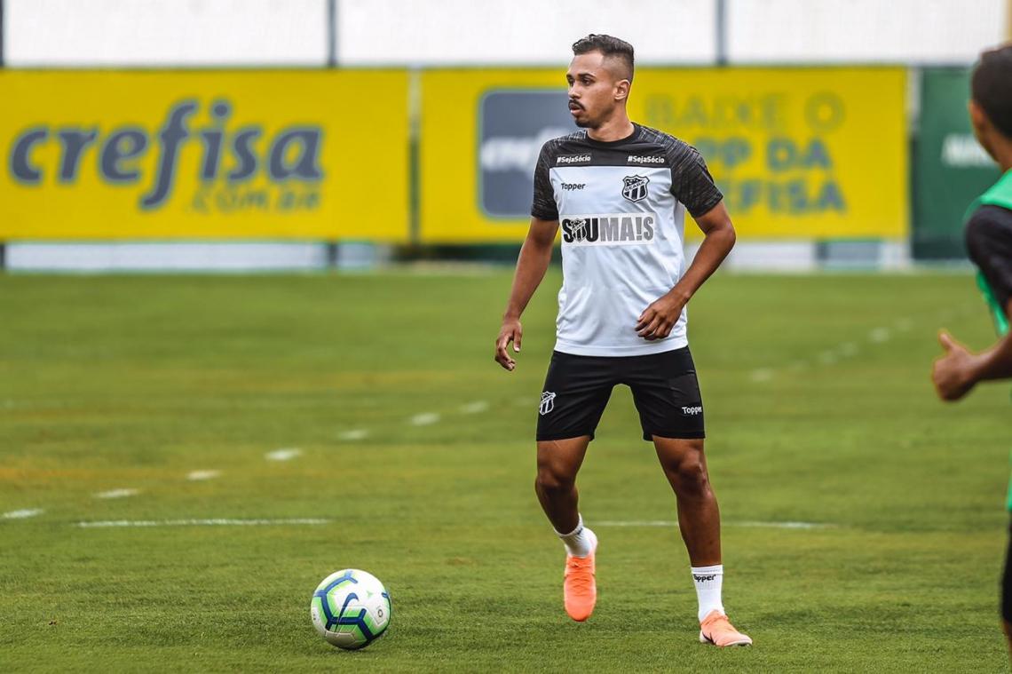 Lima está na segunda passagem pelo Ceará e ainda não marcou